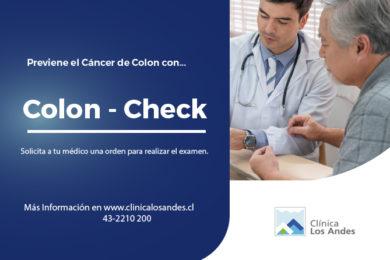 PREVIENE EL CÁNCER DE COLON DE MANERA RÁPIDA Y SENCILLA CON ¡COLON – CHECK!